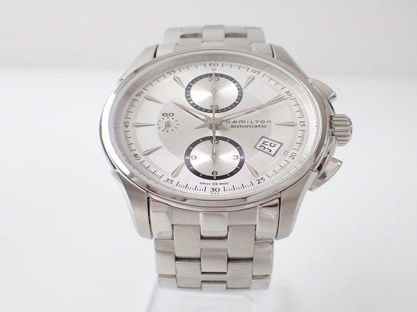 ハミルトンのジャズマスター クロノグラフ 腕時計 メンズの買取実績です。