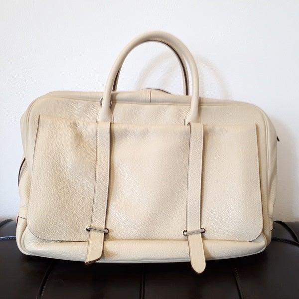 エルメスのスティーブ45 トリヨンクレマンス レザーバッグの買取実績です。
