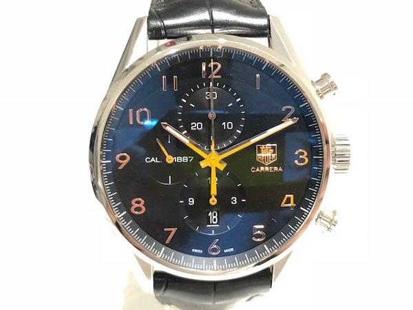 3443の黒文字盤 CAR2014-2 WWV2582 自動巻き 腕時計 メンズの買取実績です。