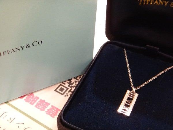 ティファニーの750WG アトラス ダイヤ ネックレス の買取実績です。