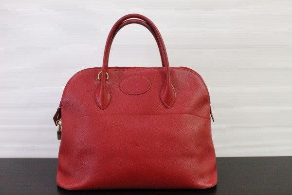 エルメスのヴォーミリオン クシュベル 1992年製 ハンドバッグの買取実績です。