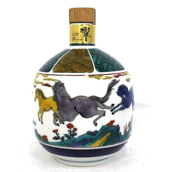 響の響21年 九谷焼 古九谷風駿馬文瓶の買取実績です。